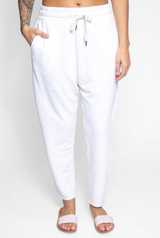 NSF Yana Sweatpant Soft White