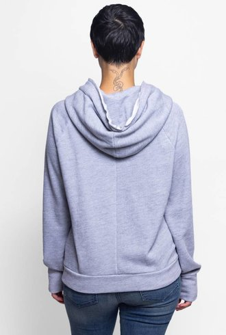 NSF Roxie Hoodie Heather Grey