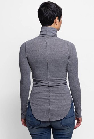 NSF Jaqui Turtleneck Heather Grey