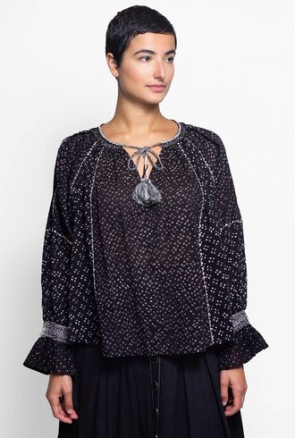 Ulla Johnson Ritsa Blouse Noir