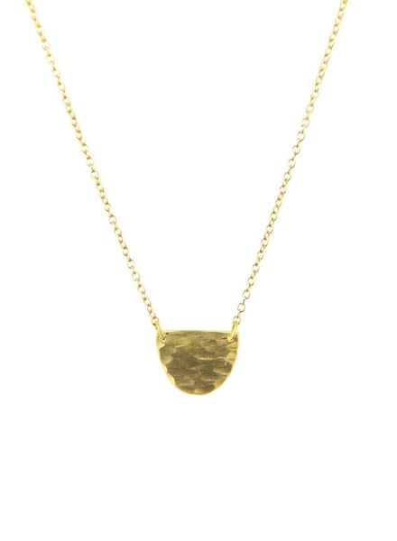 Sarah McGuire Half Moon Necklace