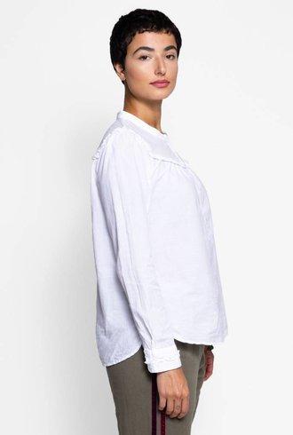 Xirena Grace Cotton Poplin White