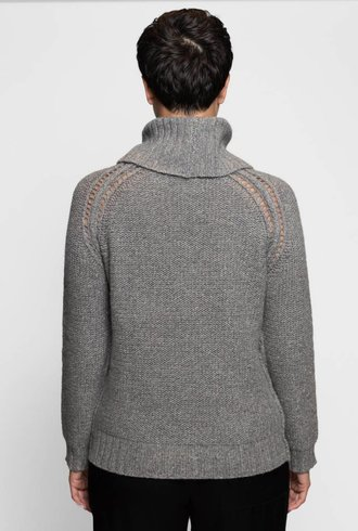 Inhabit Chunky Shine Turtleneck Antler