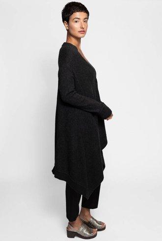 Inhabit Drapey Coat Charcoal