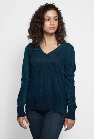 MA+CH V-neck Wallflower Mineral