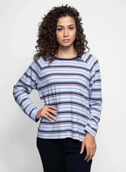 Xirena Regan Long Sleeve Tee Blue Crush