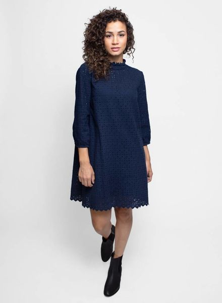 Trovata The Madison High Neck Dress Navy