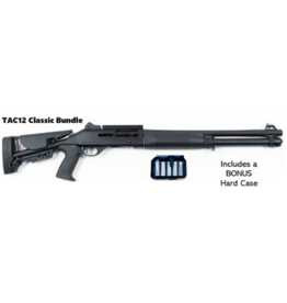 "SULUN ARMS SULUN ARMS TAC-12 SHOTGUN, 12 GA, 18.5"" BARREL, ADJUSTABLE STOCK, CLASSIC BUNDLE W/ CHOKES"