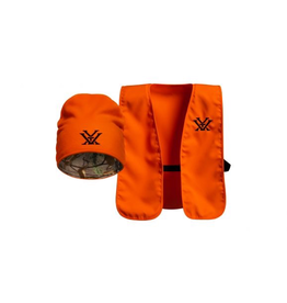 VORTEX VORTEX BLAZE ORANGE VEST AND TOQUE COMBO