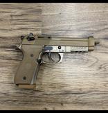 BERETTA BERETTA M9A3 PISTOL, 9MM, FDE, 3 MAGS, W/ CASE, PRE-OWNED