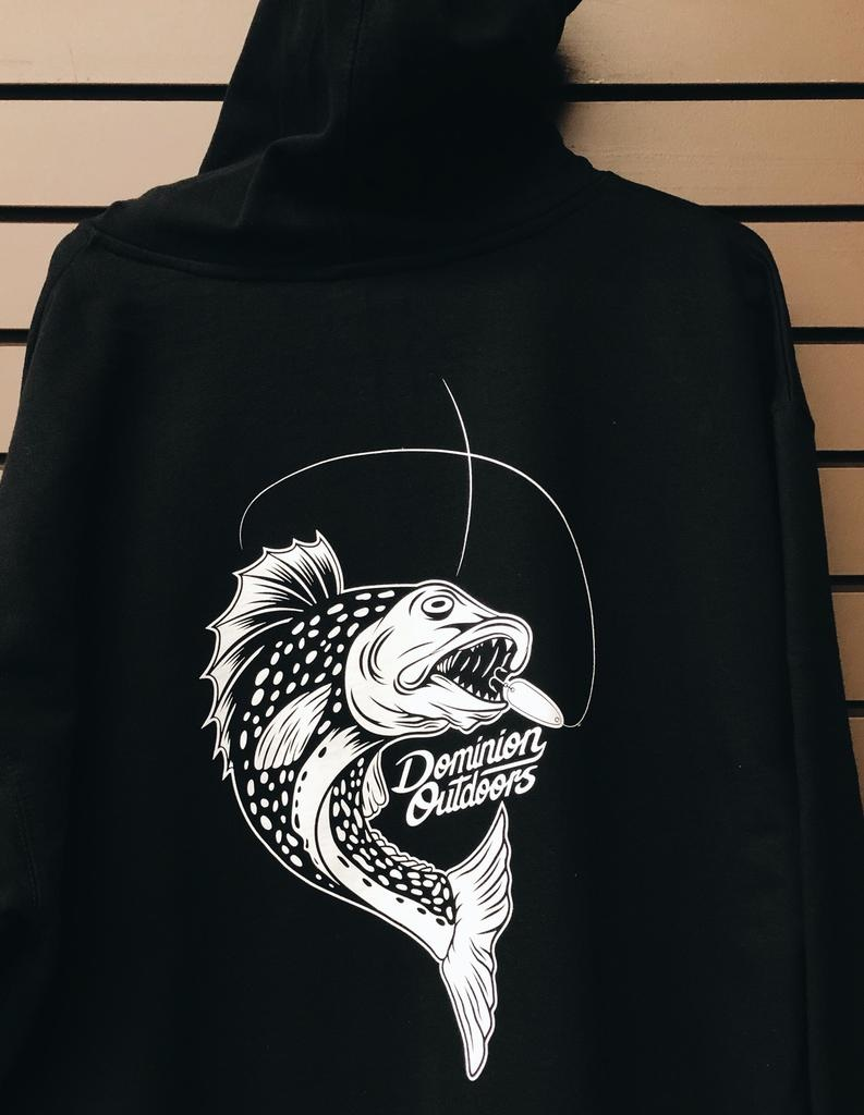 DOMINION OUTDOORS DOMINION OUTDOORS HOODIE, FISH