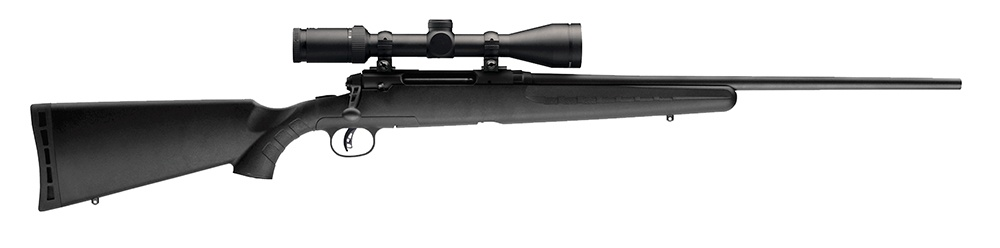 SAVAGE SAVAGE AXIS II XP RIFLE, 6.5 CREEDMOOR, W/ SCOPE