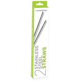 U-Konserve Stainless Steel Straws x 2
