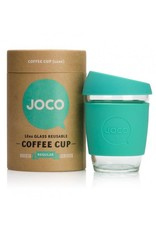 JOCO JOCO 12 oz Reusable Glass Cup - Mint