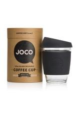 JOCO JOCO 12 oz Reusable Glass Cup - Black
