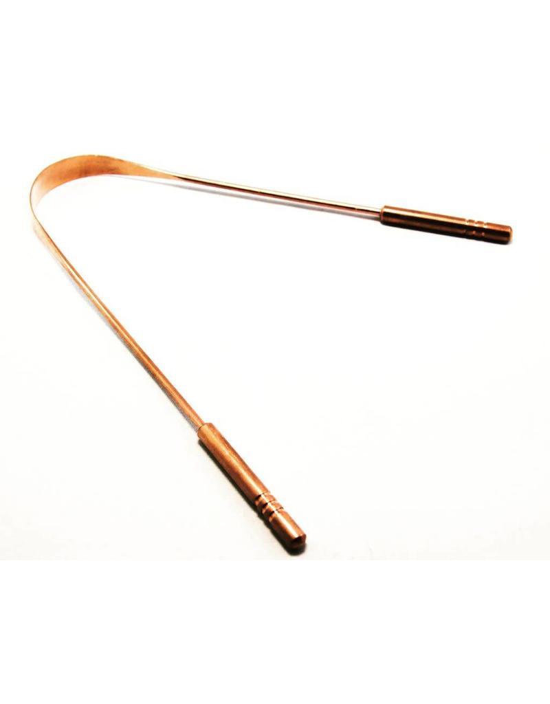 BamBrush Copper Tongue Scraper