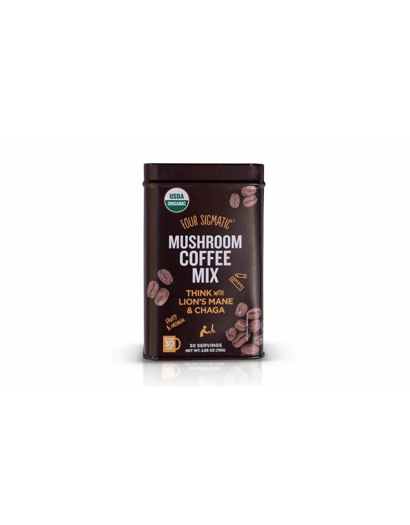 Four Sigmatic Mushroom Coffee Mix - Lion's Mane & Chaga 30 servings