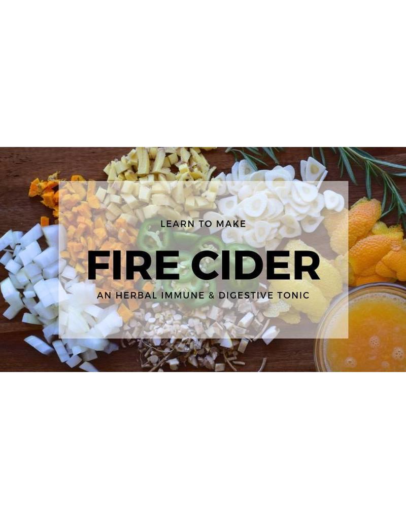 Fire Cider Workshop - NOV 29th 6pm