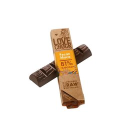 Lovechock Love Chock - Pecan Maca Organic Raw Chocolate