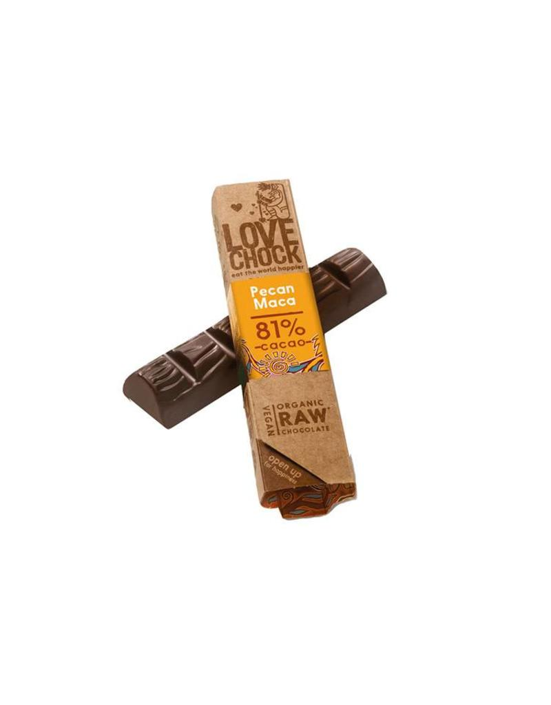 Love Chock Love Chock - Pecan Maca Organic Raw Chocolate