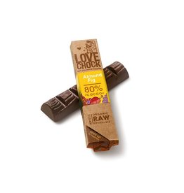 Lovechock Love Chock - Almond Fig Organic Raw Chocolate