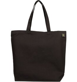 Eco-Bags Black Natural Cotton Canvas Tote
