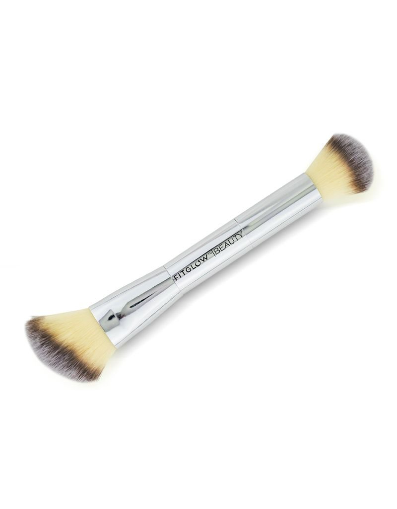 Fitglow Beauty Teddy Double Cheek Brush