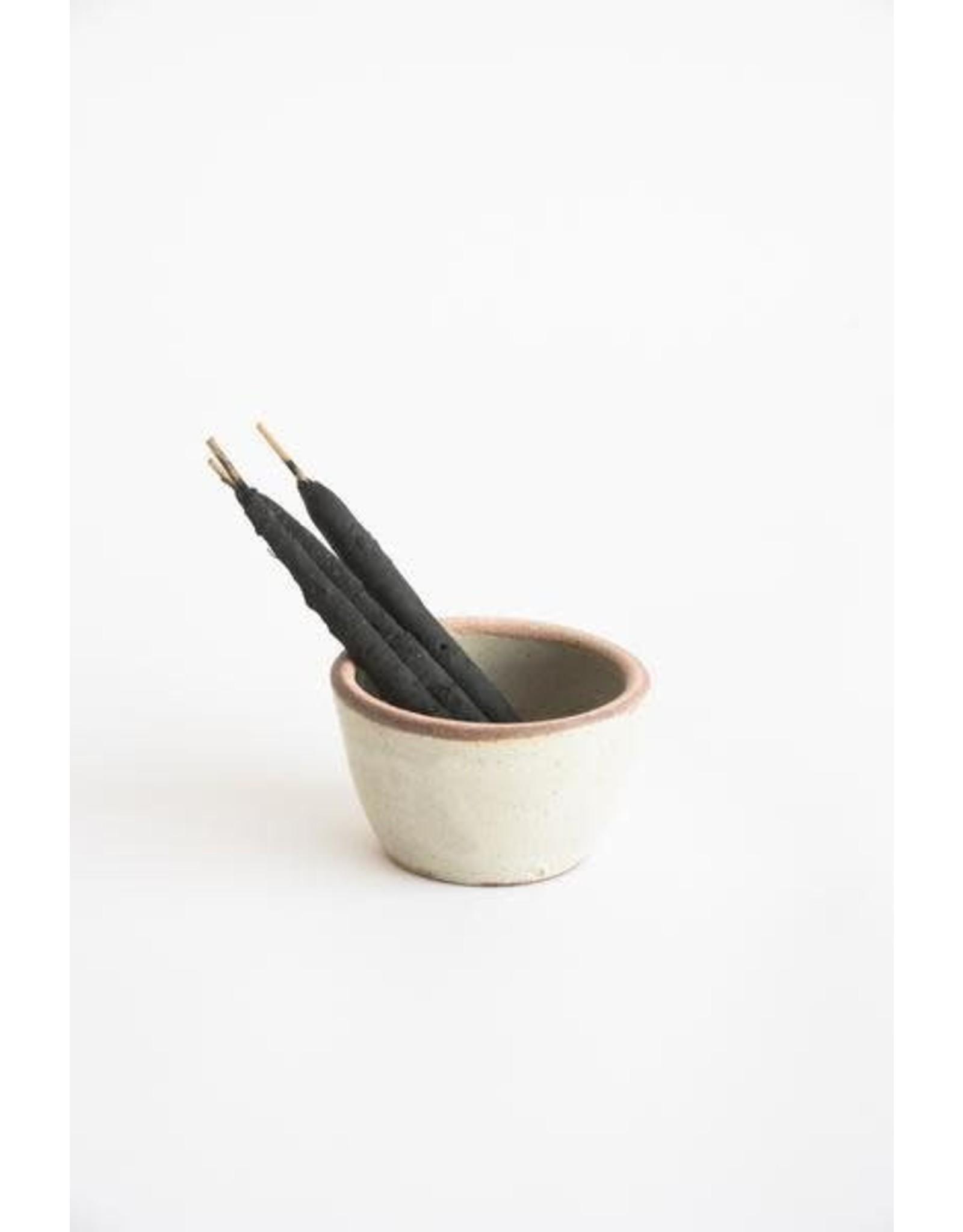 Incausa Stoneware Smudge Bowl - Piker White