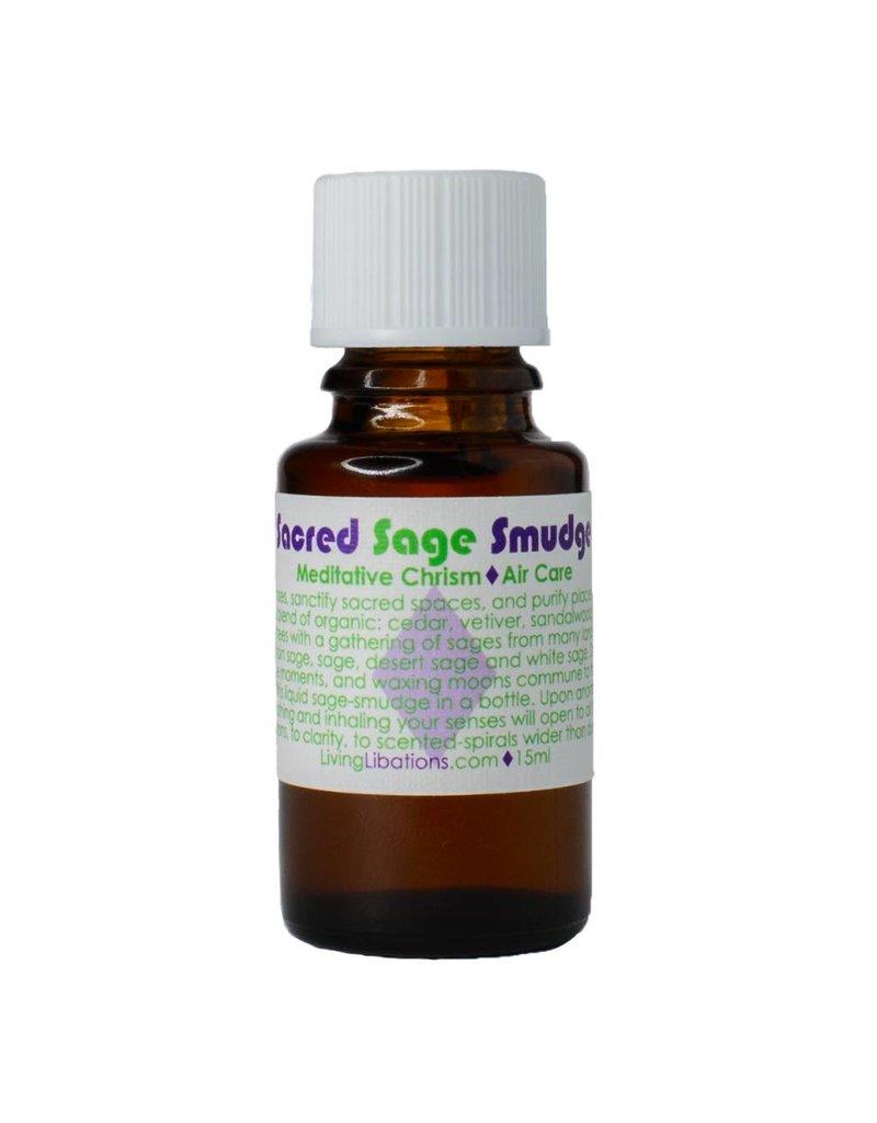 Living Libations Sacred Sage Diffuser Blend