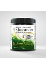 Harmonic Arts 5 Mushroom Dual Extract Powder
