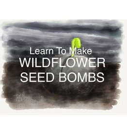 Seed Bomb Workshop April 11th 6:30pm