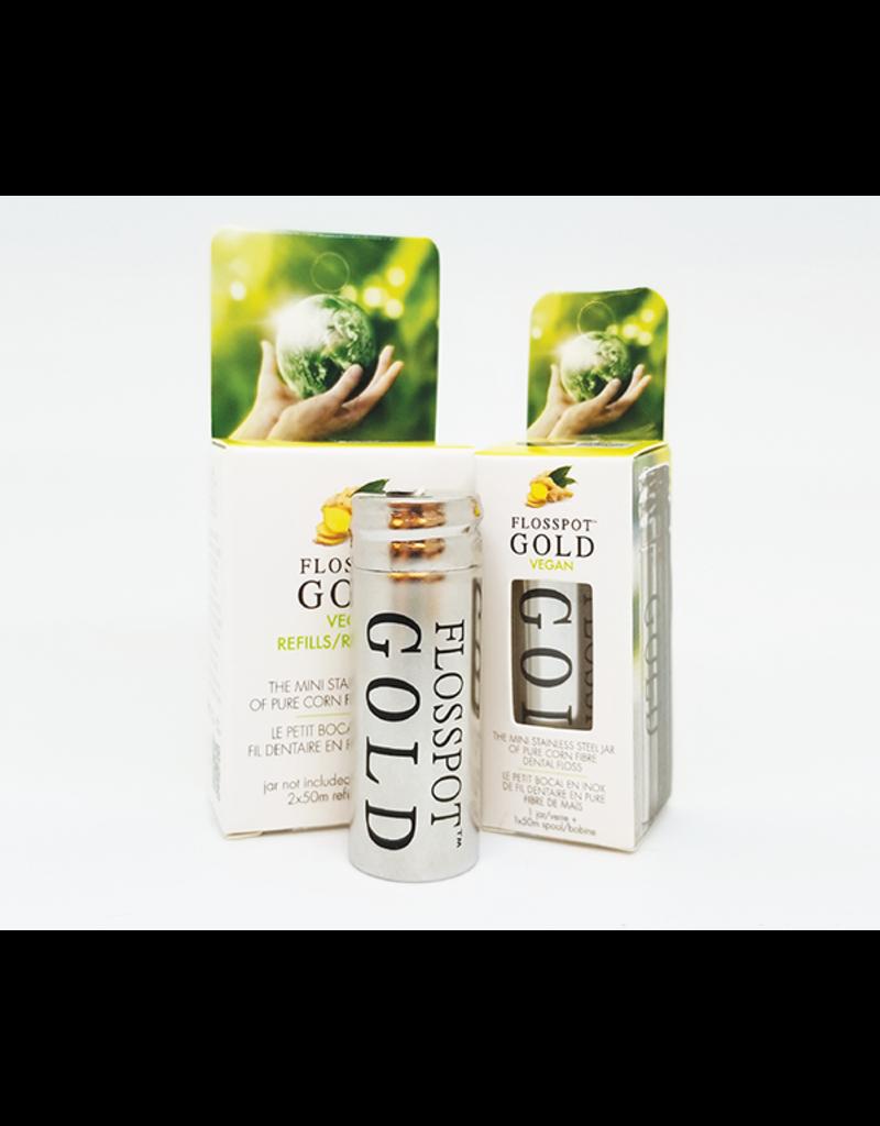KMH Touches Flosspot Gold Vegan Floss