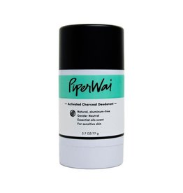 Piperwai Natural Charcoal Deodorant Stick