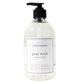 Lovefresh Pear Hand & Body Wash