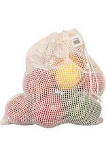 Eco-Bags Organic Cotton Mesh Produce Sack - Medium