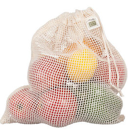 Eco-Bags Organic Cotton Mesh Produce Sack - Medium