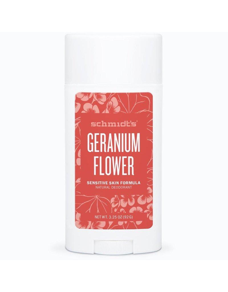 Schmidt's Schmidt's Geranium Flower Sensitive Deodorant