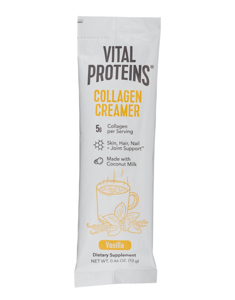 Vital Proteins Vanilla Collagen Creamer Stick Packs (single)