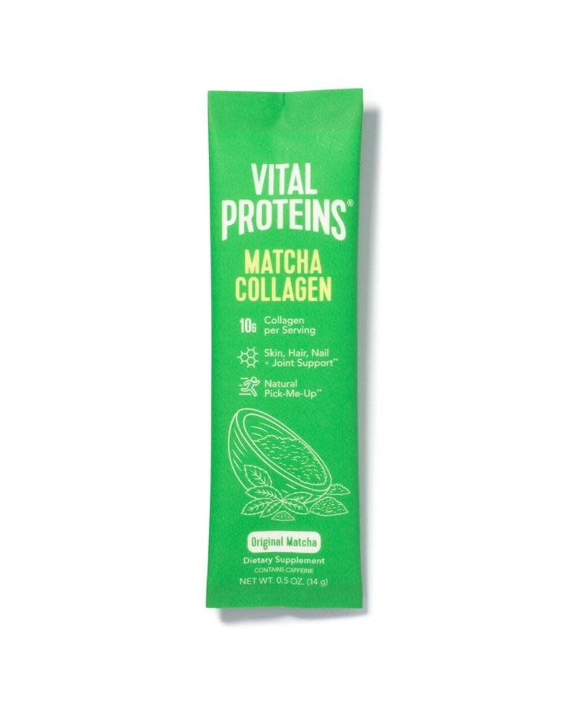 Vital Proteins Matcha Collagen Stick Packs (single)