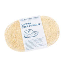 Redecker Loofah Oval Soap Cushion