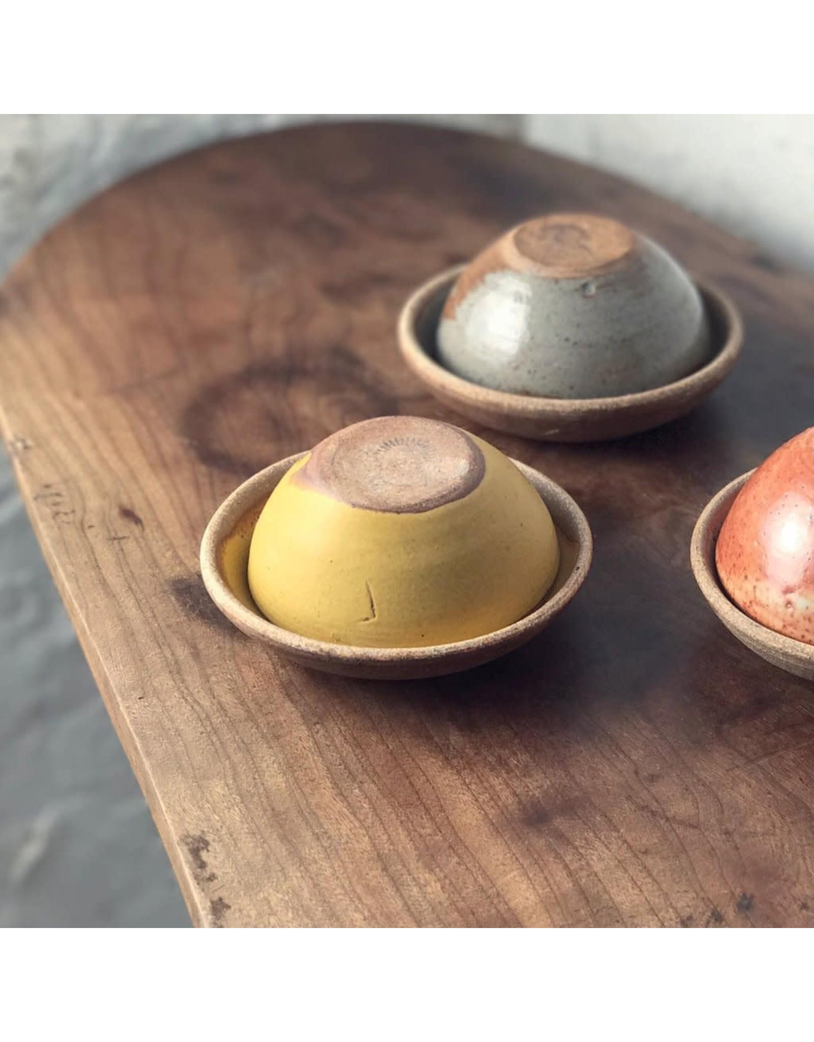 Incausa Stoneware Smudge Bowl - Woo Yellow