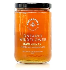 Beekeepers Naturals Ontario Wildflower Honey