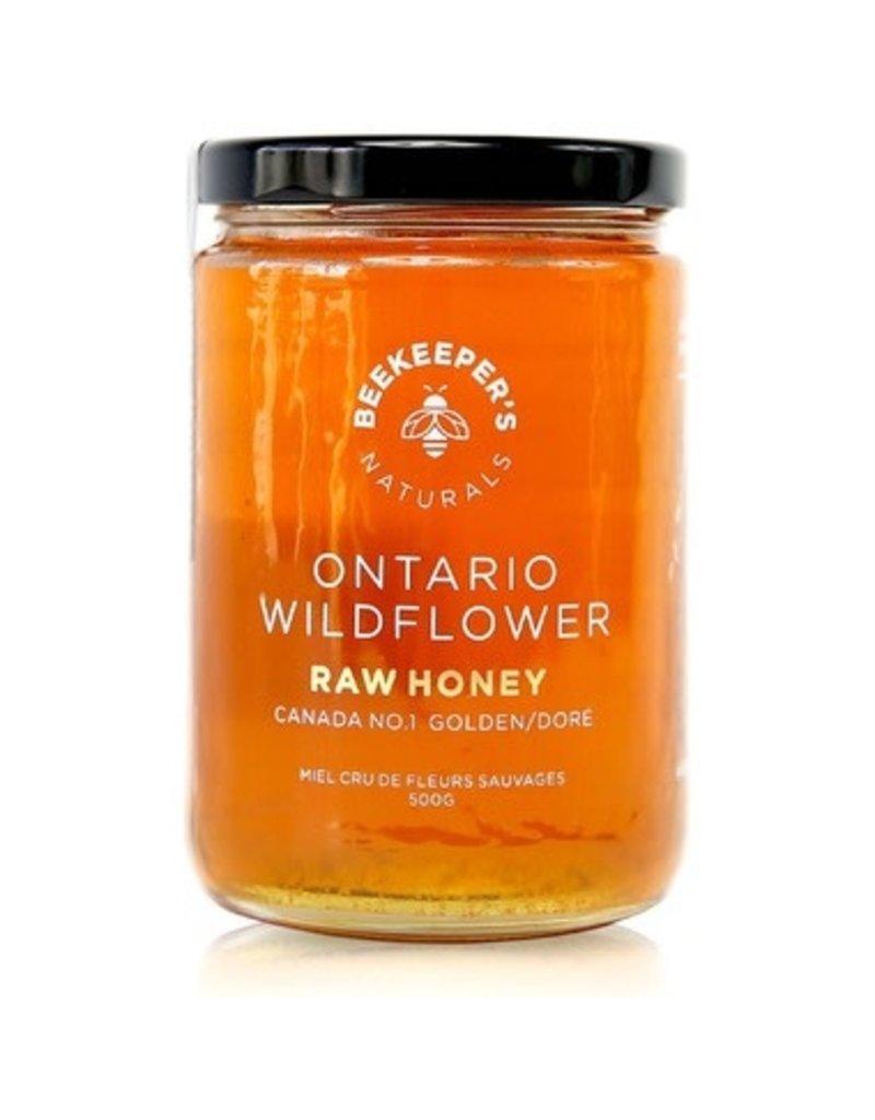 Beekeepers Naturals Ontario Wildflower Honey