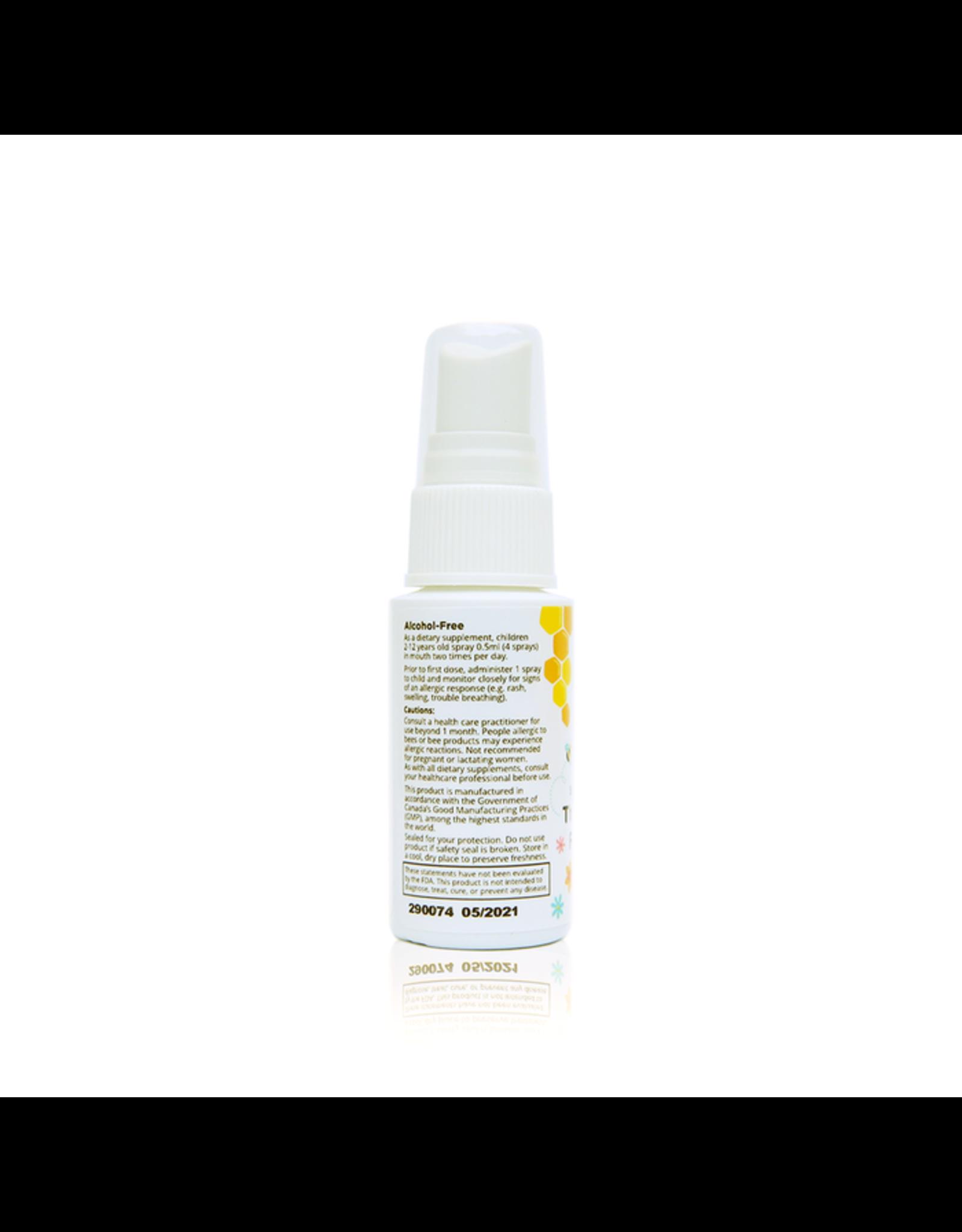 Beekeepers Naturals Propolis Throat Spray for Kids