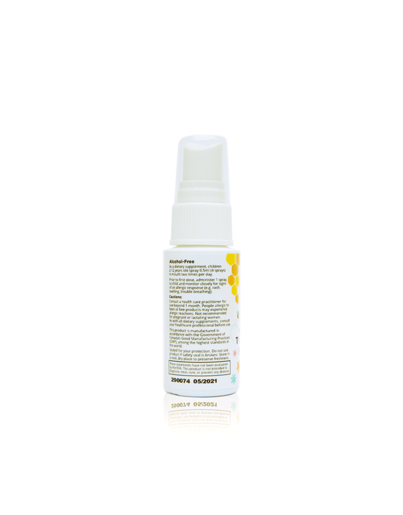 Beekeepers Naturals Propolis Throat Spray for Kids