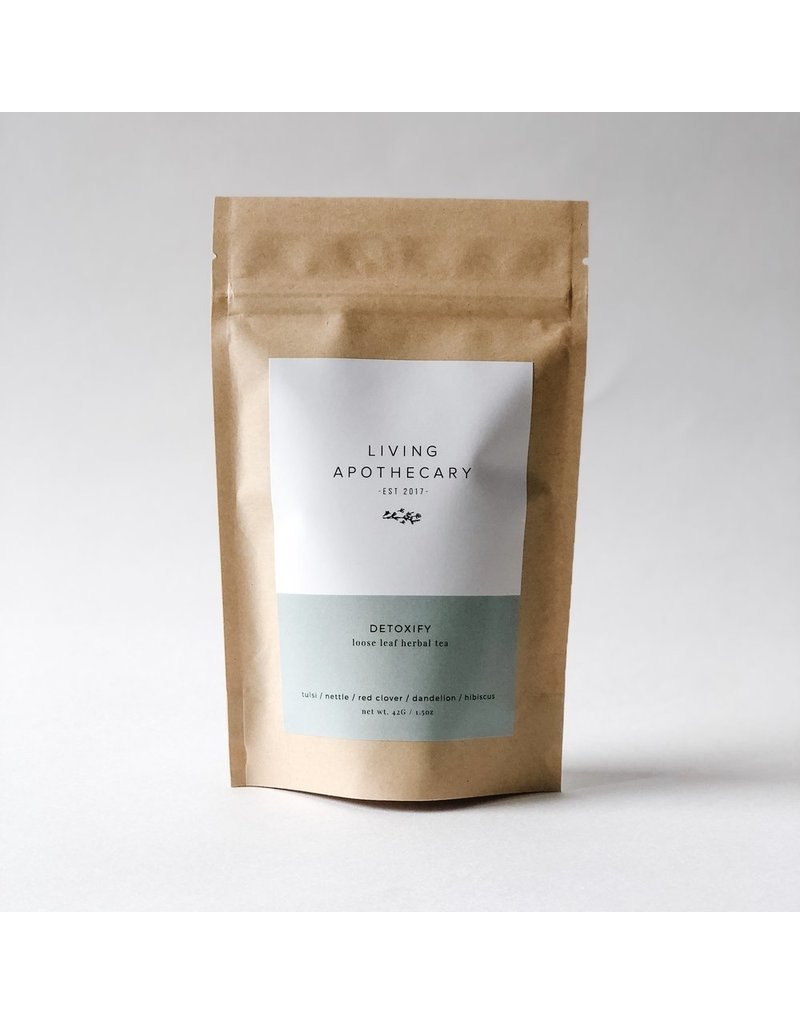 Living Apothecary Detoxify Herbal Tea Blend