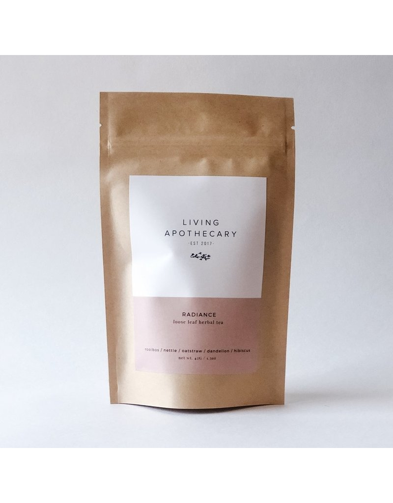 Living Apothecary Radiance Herbal Tea Blend