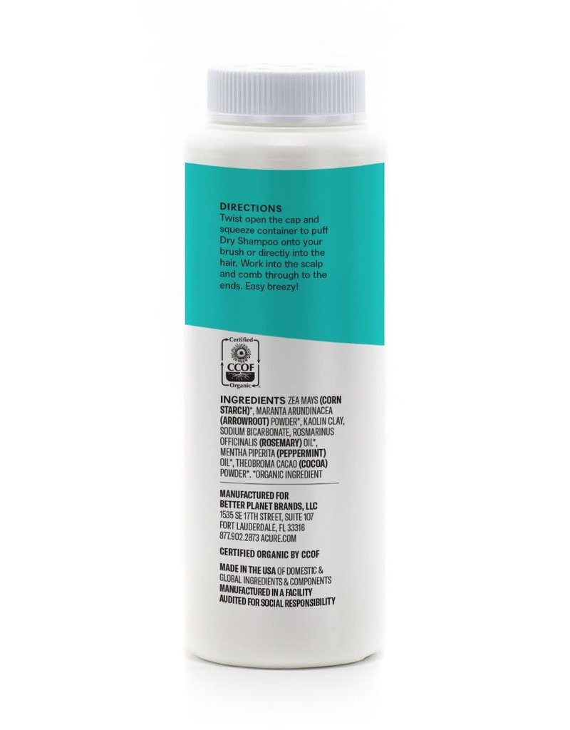 Acure Acure Dry Shampoo - Brunette to Dark Hair