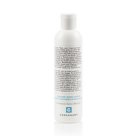 Consonant Organic Body Lotion - Pure Unscented