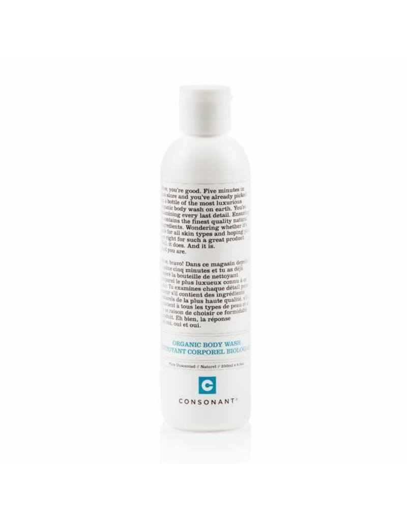 Consonant Organic Body Wash - Pure Unscented